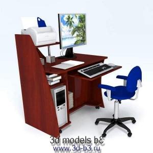 Стол компьютерный, мобильный